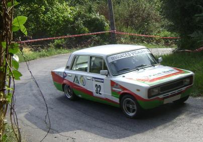 III RallySprint de Hondarribia. III. Hondarribiko Rally-Sprinta. Seat 124