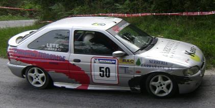Ford Escort XR3. Ander Alberdi y Oroitz Segurola.