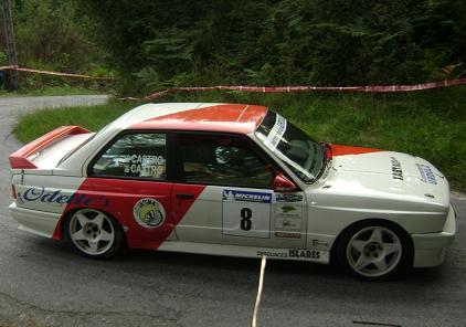 Aingeru Castro y Angel Castro. BMW M3 E30