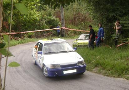 Opel Kadett GSI 16V. Endika Mugika e Iker Jauregui.