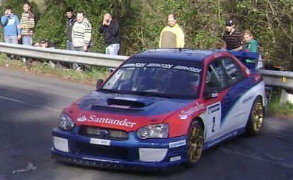 IV Rally-Sprint de Hondarribia 2010. Ander Vilariño Subaru Impreza WRC