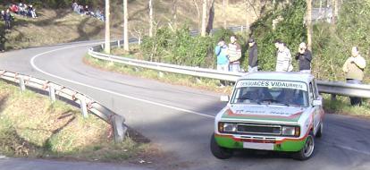 IV RallySprint de Hondarribia 2010. Patxi Hoyos SEAT 124