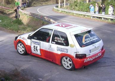 IV RallySprint de Hondarribia 2010. Jesus Perez Citroën Saxo VTS