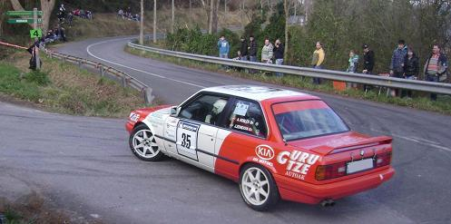 IV RallySprint de Hondarribia 2010. Aaron Robles BMW E30 325i