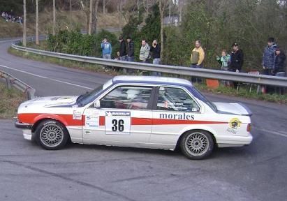 IV Rally-Sprint de Hondarribia 2010. Kike Perez BMW E30 325i