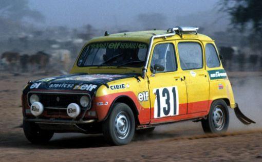 Renault 4 Sinpar. Hermanos Marreau. nº 131. Dakar 1979