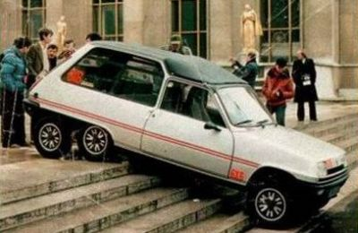 Renault 5 6x6 Leotard.
