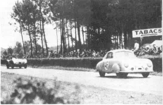 Porsche 356 SL Coupé. 24 Horas de Le Mans