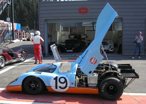 Porsche 917. Motor boxer 12 cilindros.