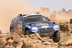 Giniel De Villiers, Ganador de la 7ª etapa Lisboa Dakar.
