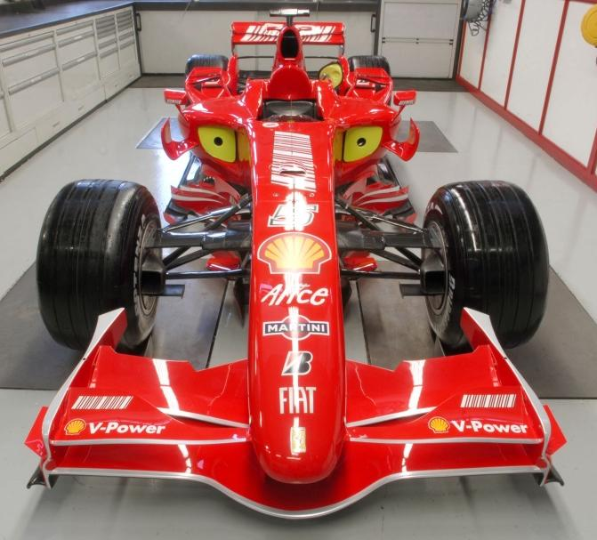Ferrari F2007, sustituto del Ferrari 248F1