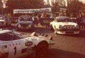 Parque cerrado Rally Shalymar 1981