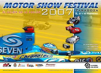 Cartel 4º Motor Show Festival de Zaragoza