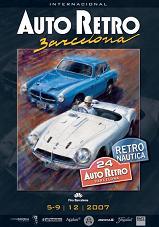Cartel Auto Retro Barcelona 2007