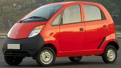 Primeras Fotografías del Tata People's Car