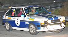 Josep y Oriol Morera, (Ford Fiesta Sport), vencedores del IV Rally de la Llana Classic