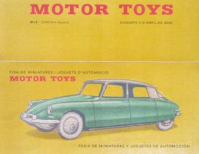 Cartel Feria Motor-Toys 2008