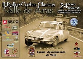 I Rally de coches clásicos Valle de Aras.
