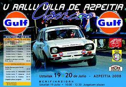 V Rally de Azpeitia de Clásicos Deportivos