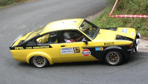 Opel Kadett GTE. Rallye Gipuzkoa 2013
