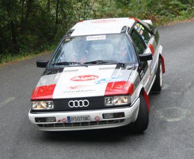 Audi Coupe GT. VI Rallye Gipuzkoa