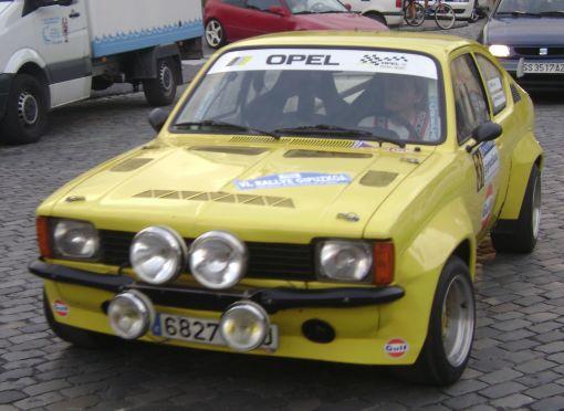 Rallye Gipuzkoa 2013. Opel Kadett GTE Javier Mur