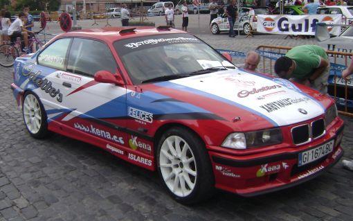 BMW E36 M3 Aingeru Castro. Rallye Gipuzkoa.