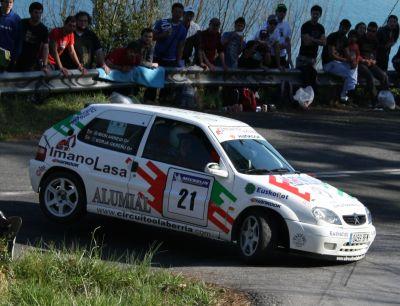 Ibon Arregui y Borja Guereñu. Citroen Saxo VTS