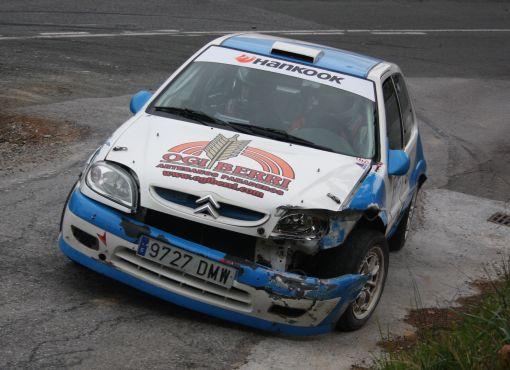 Iker Tolosa (Citroen Saxo VTS) RallySprint Hondarribia 2013