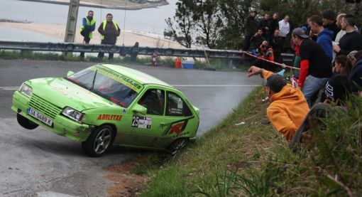 Markos Landa. Opel Kadett GSI 16V. RallySprint Hondarribia 2013.