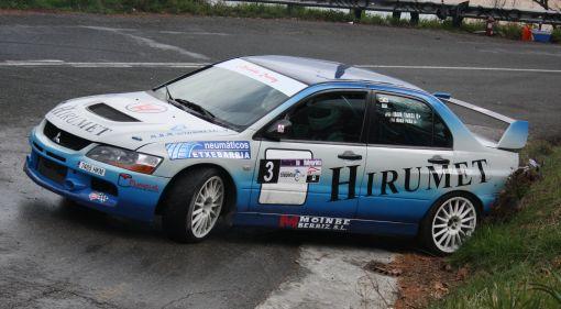 Iban Tarsicio. Mitsubishi EVO IX. RallySprint Hondarribia 2013.
