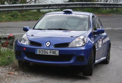 Roland Holke. Renault Clio Sport. Rally Sprint Hondarribia 2013.