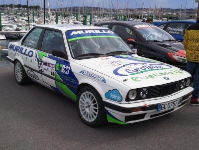 Iker Murillo. BMW E30 325i. RallySprint Hondarribia.
