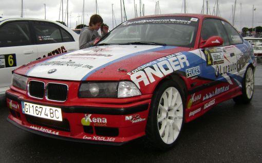 Aingeru Castro. BMW M3 E36. RallySprint de Hondarribia 2014