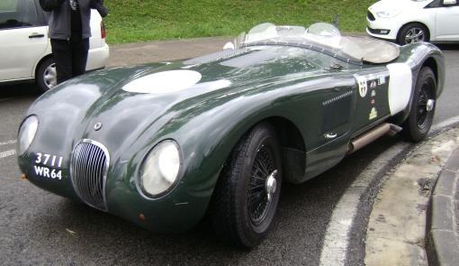 Jaguar Type C Protheus de Michel Larripa