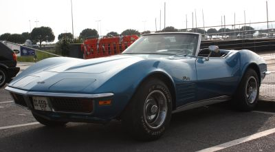 Chevrolet Corvette StingRay. Travesia del Bidasoa