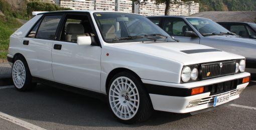 Lancia Delta HF. Travesia del Bidasoa