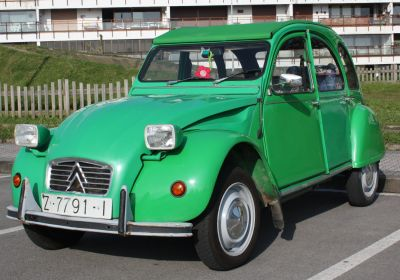 Citroën 2CV Travesía del Bidasoa.