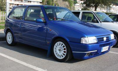 FIAT uno Turbo. Travesía del Bidasoa