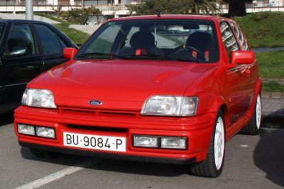 Ford Fiesta XR2i. Travesía del Bidasoa
