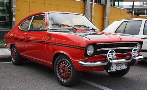 Opel Kadett. IV TRavesía Bidasoa