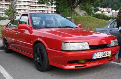 Renault 21 Turbo. IV Travesía del Bidasoa.
