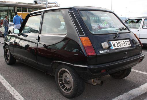 Renault 5 Copa Turbo. IV Travesía del Bidasoa.
